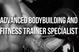 Advanced Body Building and Fitness Trainer Specialist - Certificação IFBB
